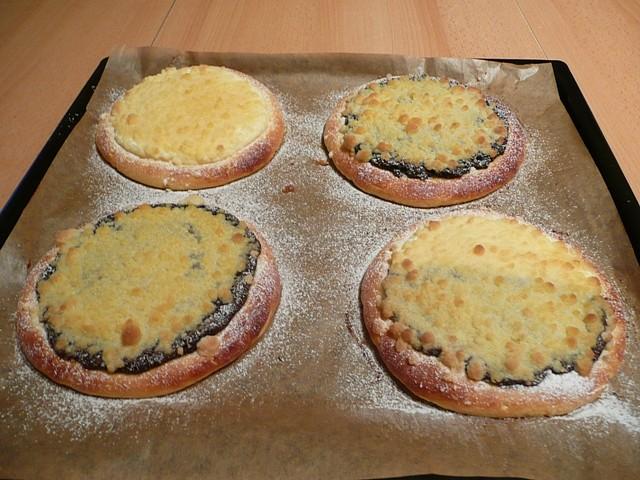 Bezlepkové kynuté koláče