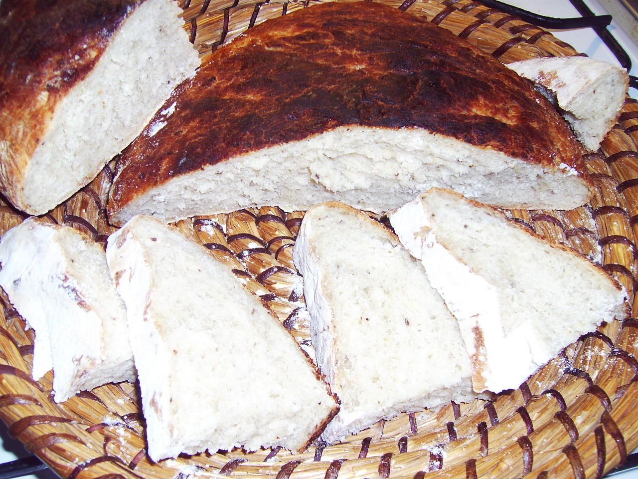 Chlebový pecen s cuketou
