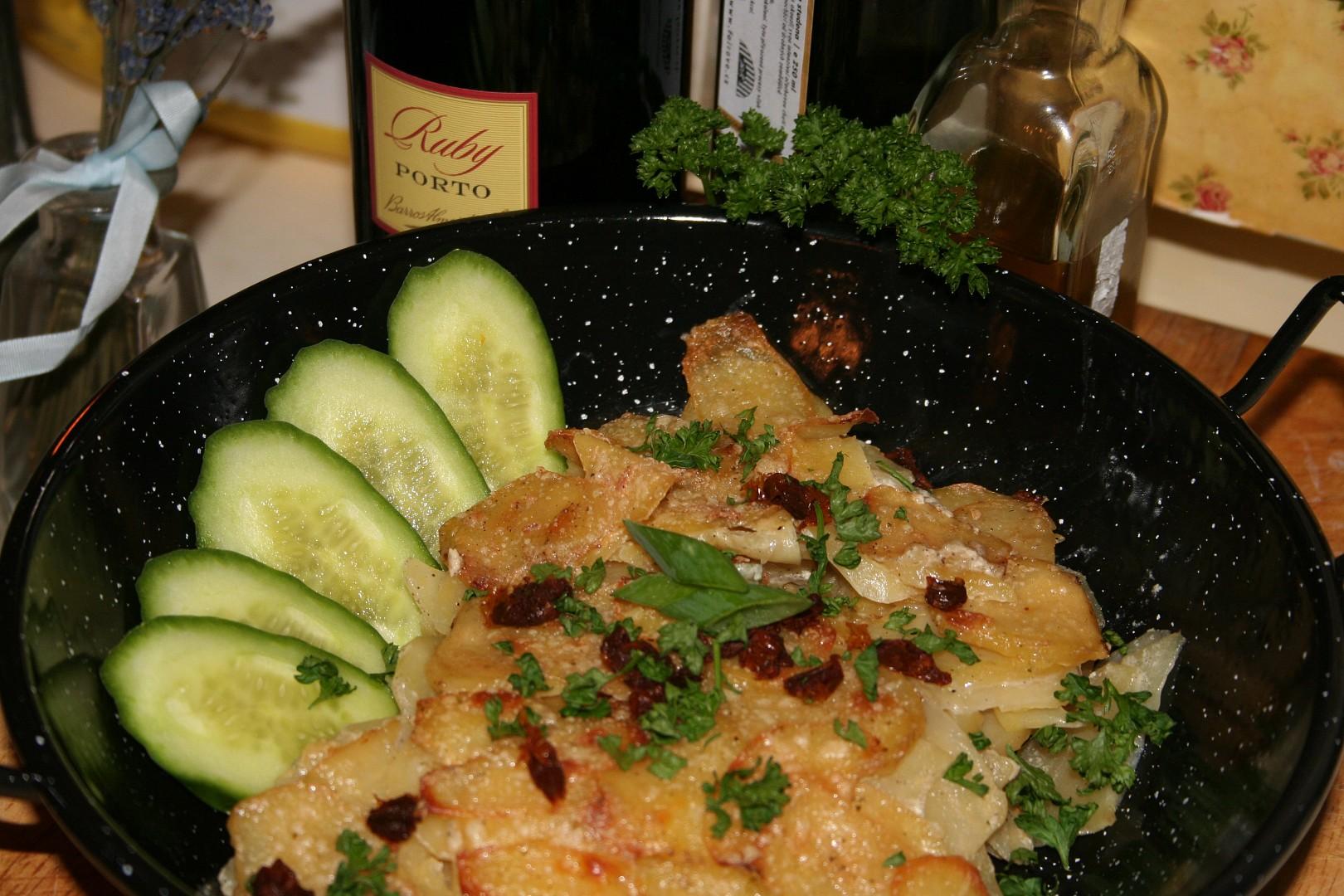 Dauphinois gratinované brambory