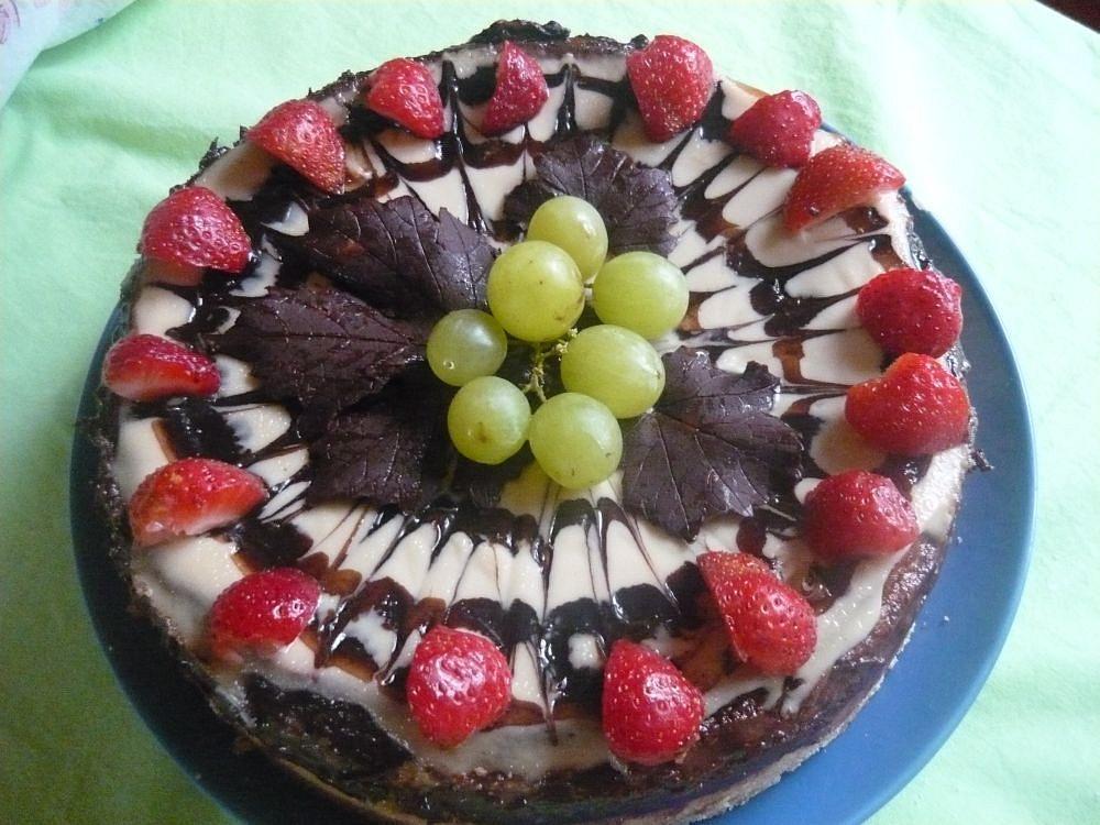 Kapučínový dort
