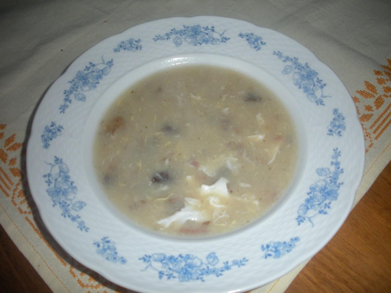 Krůtí pajšlová polévka
