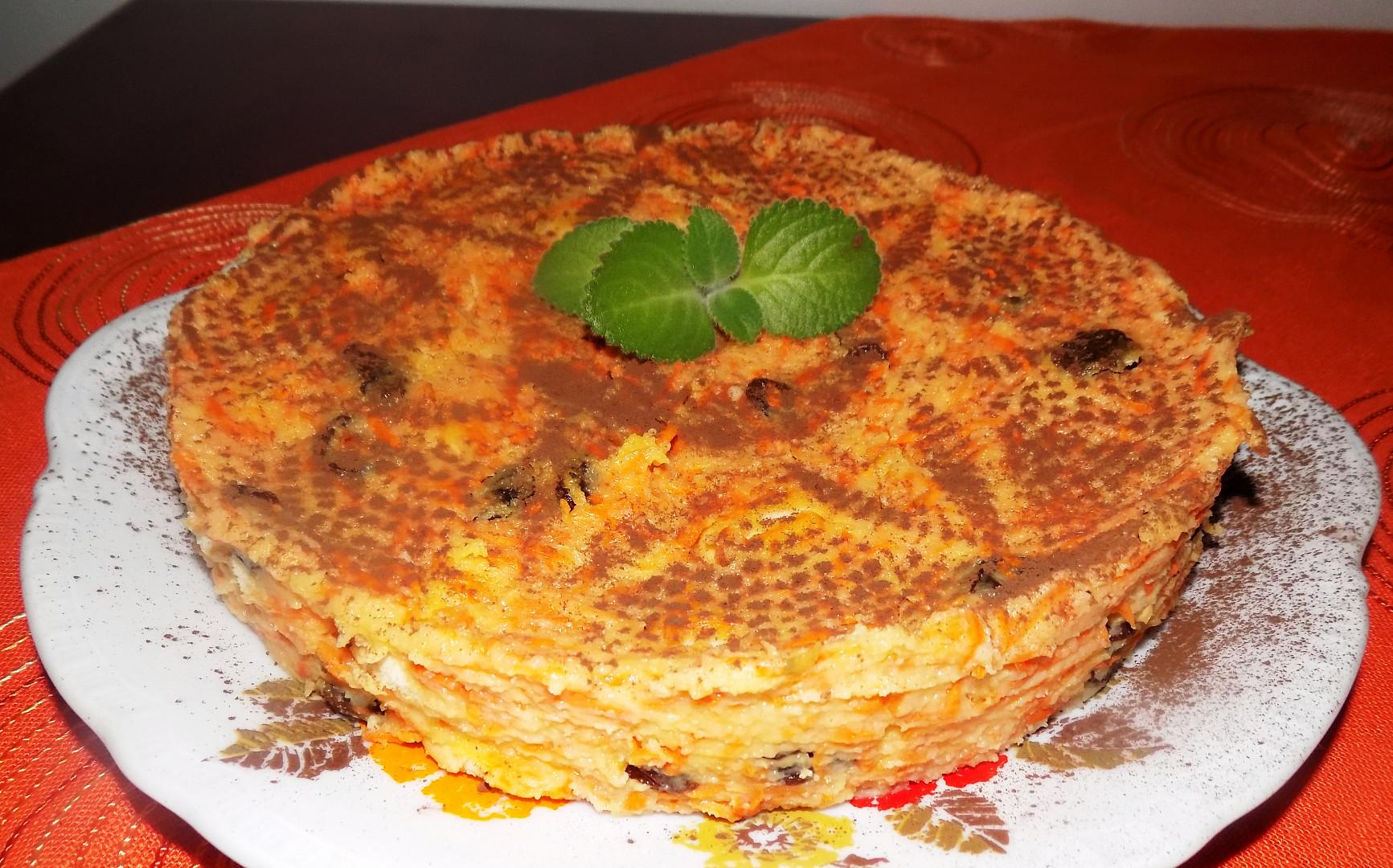 Mrkvový dort bez pečení