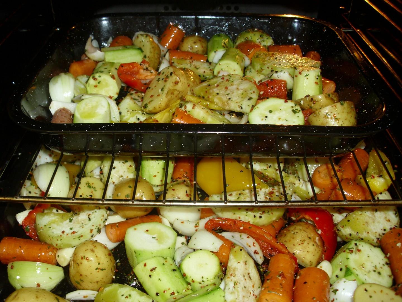 Pečená zelenina s černuchou