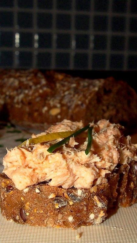 Pomazánka z pečeného lososa