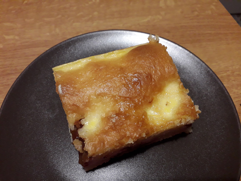 Rychlá buchta s tvarohem a povidly - chuť jako hanácké koláče
