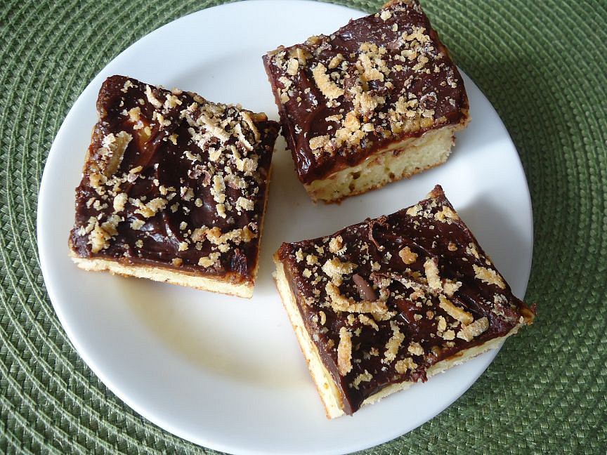 Rychlý pudinkový margot koláč