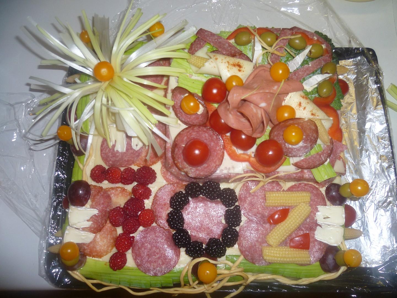 Slaný dort pro babičku
