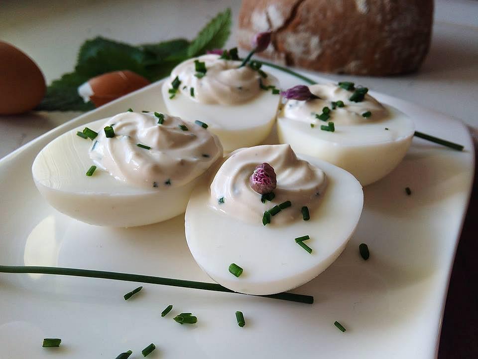Smetanová pomazánka s vejci