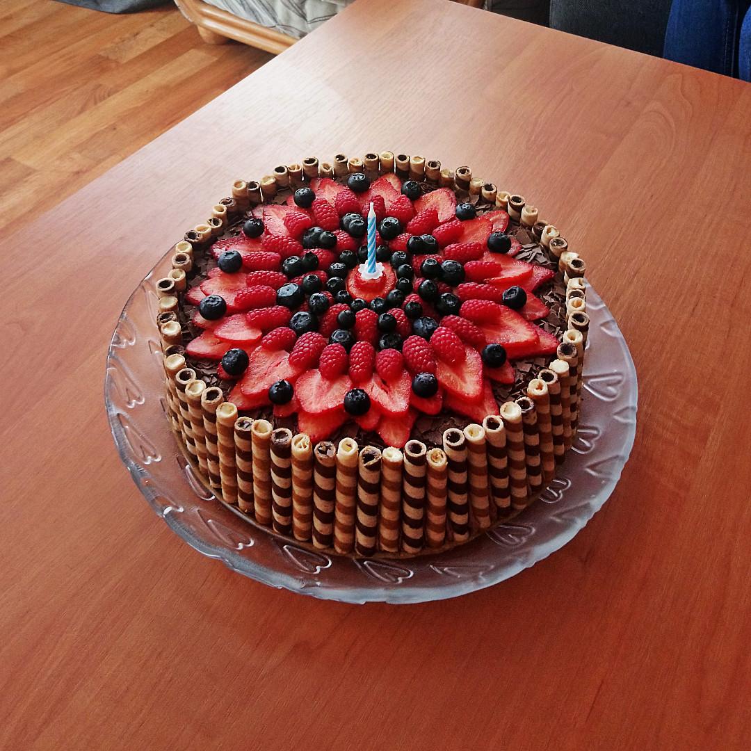 Supr čupr pařížský dort
