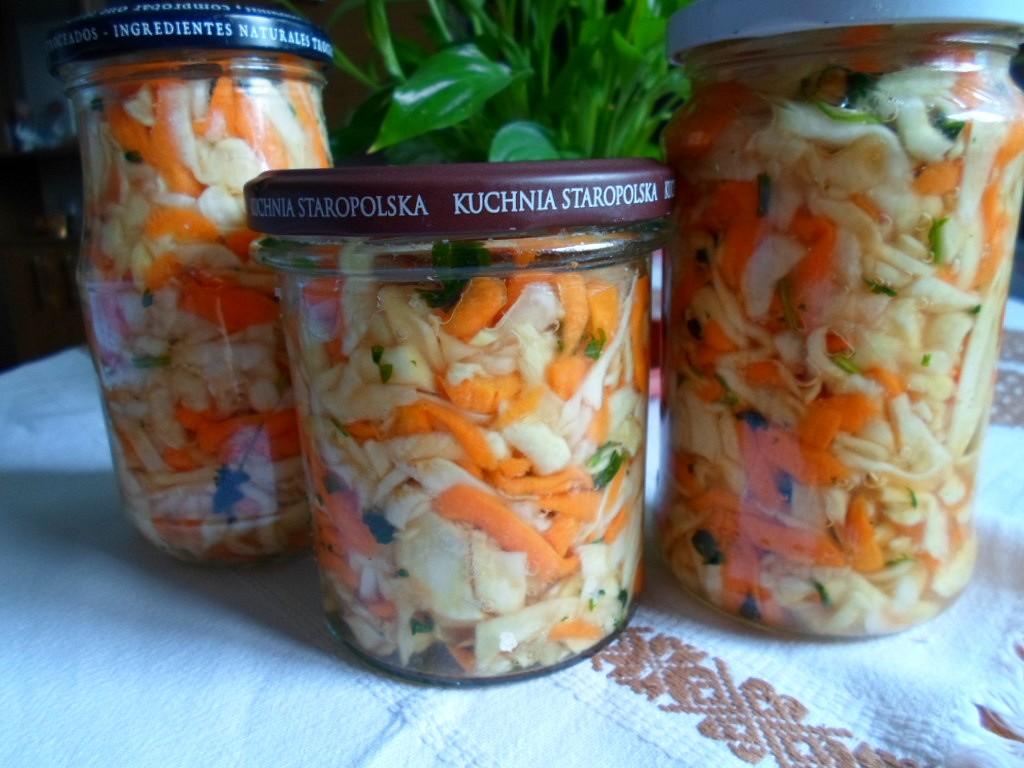 Zelenina v soli